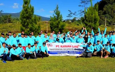 Karana Line Team  celebrated 50th anniversary  and outing to Lembang
