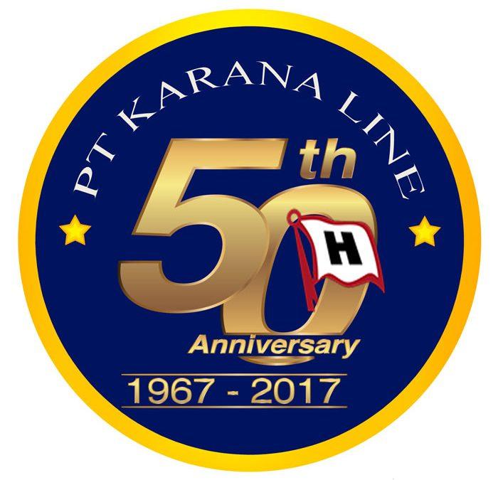 Karana Line celebrated 50th anniversary on 25th April 2017
