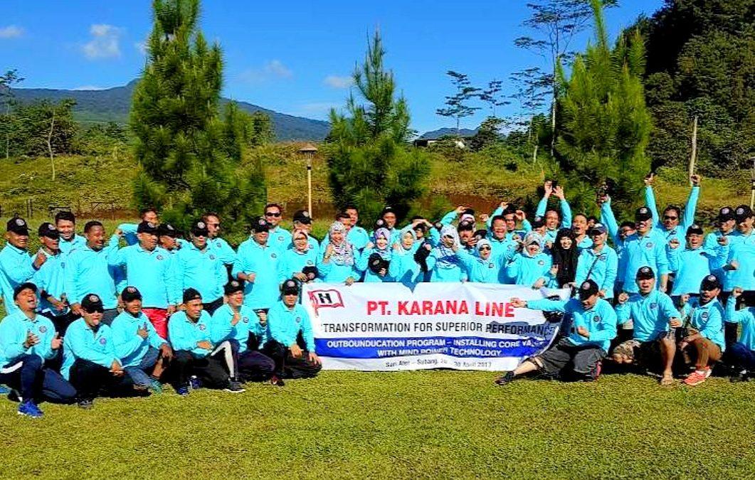 Karana Line Team  celebrated 50th anniversary  and outing to Lembang