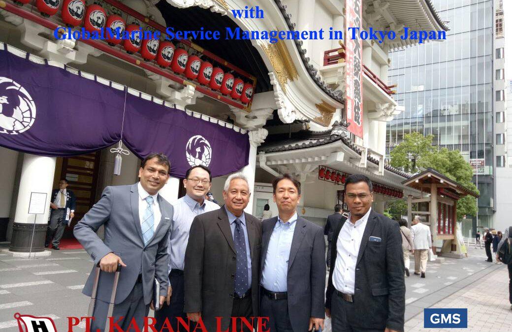 Karana Line Directors with Global Marine Service Management in Tokyo, Japan