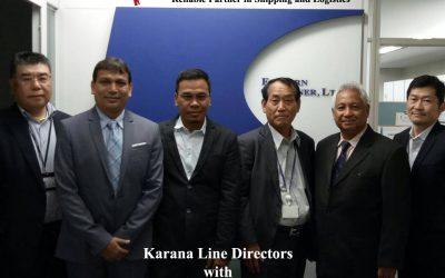 Karana Line Directors with Eastern Car Liner Management in Tokyo, Japan. Mei 2017