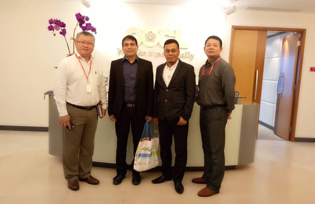 Karana Management with OOCL corporate team in Hong Kong