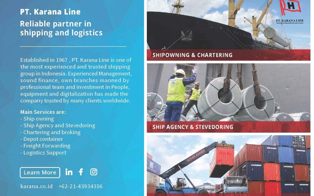 PT. KARANA LINE Commitment with Rhenus Project Logistics to grow together !